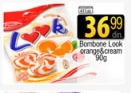 Bombone orange cream