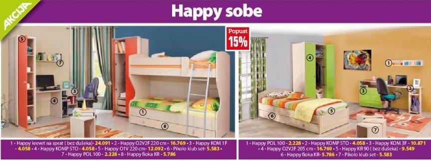 Akcija Happy sobe