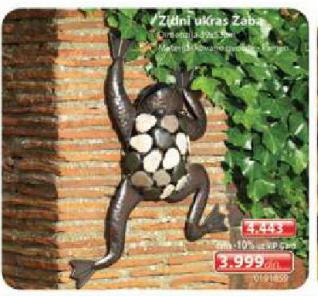 Zidni ukras žaba