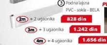 Podna Lajsna 4m i 4 ugaonika