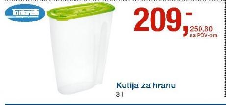 Kutija Za Hranu