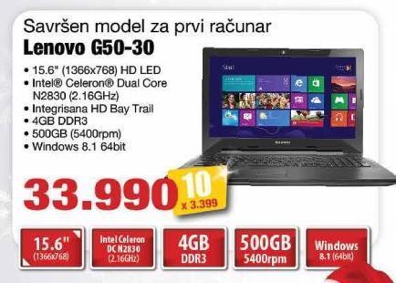 Laptop G50-30