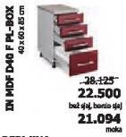 Kuhinjski element InMdf D40 F Pl-Box