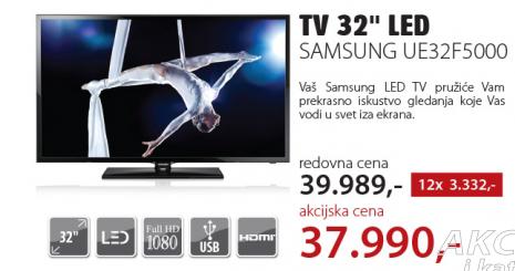 Televizor LED LCD UE32F5000