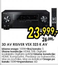 3D AV Risiver Vsx 323 K AV