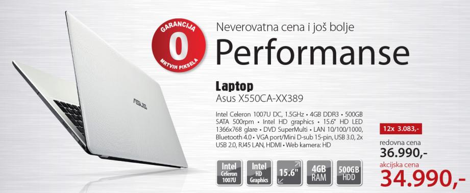 Laptop X550CA-XX389