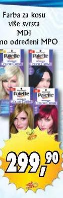 Farba za kosu Color creme