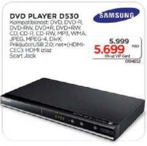 Dvd Player D530