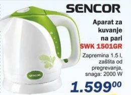Električni bokal Swk 1501gr