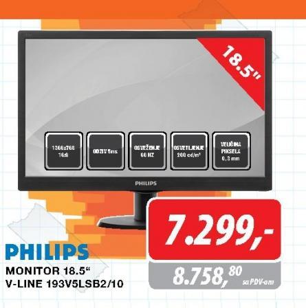 LED Monitor V-Line 18.5