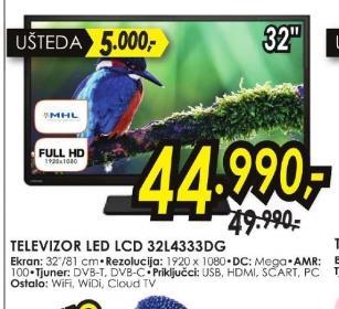 Televizor LED 32L4333DG