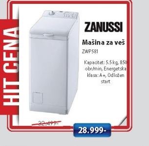 Mašina Za Veš Zwp581