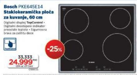 PKE645E14 Staklokeramička Ploča