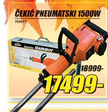 Čekić pneumatski 1500W