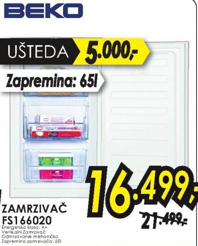Zamrzivač FS 166020