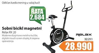 Sobni bicikl Relax RX 20
