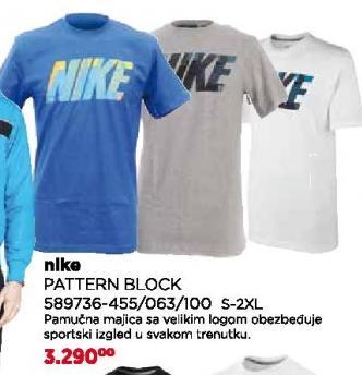 Majica Pattern Block