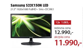Monitor LED S22C150N