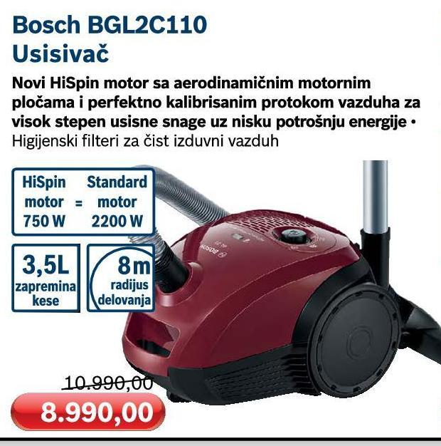 Usisivač BGL 2B 110