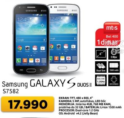 Mobilni telefon Galaxy Duos II S7582