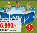 Bazen Metal Frame