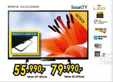 Televizor LED BRAVIA KDL42W650