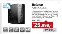 Desktop računar  Altos Školarac