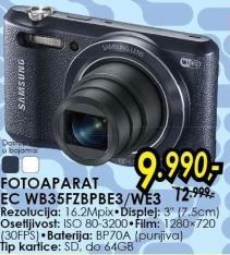 Digitalni fotoaparat Ec Wb35fzbpbe3/we3