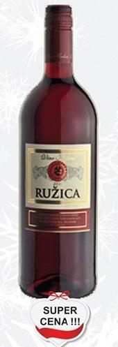 Crno vino Ružica super cena