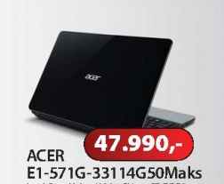 Notebook E1-571G-33114G50Maks