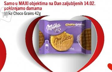Poklon Milka Choco Grains