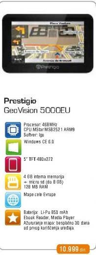GPS GeoVision 5000EU
