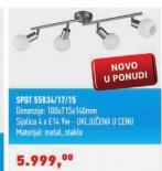 Luster SPOT 55834/17/15