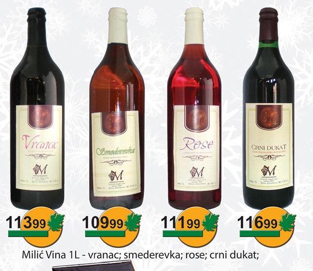 Rose vino Milić vina