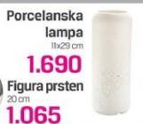Lampa porcelanska