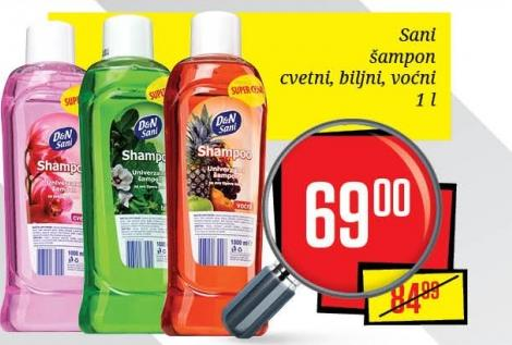 Šampon za kosu biljni