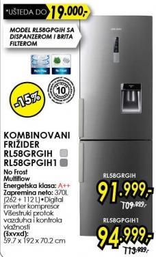 Kombinovani frižider Rl58grgih