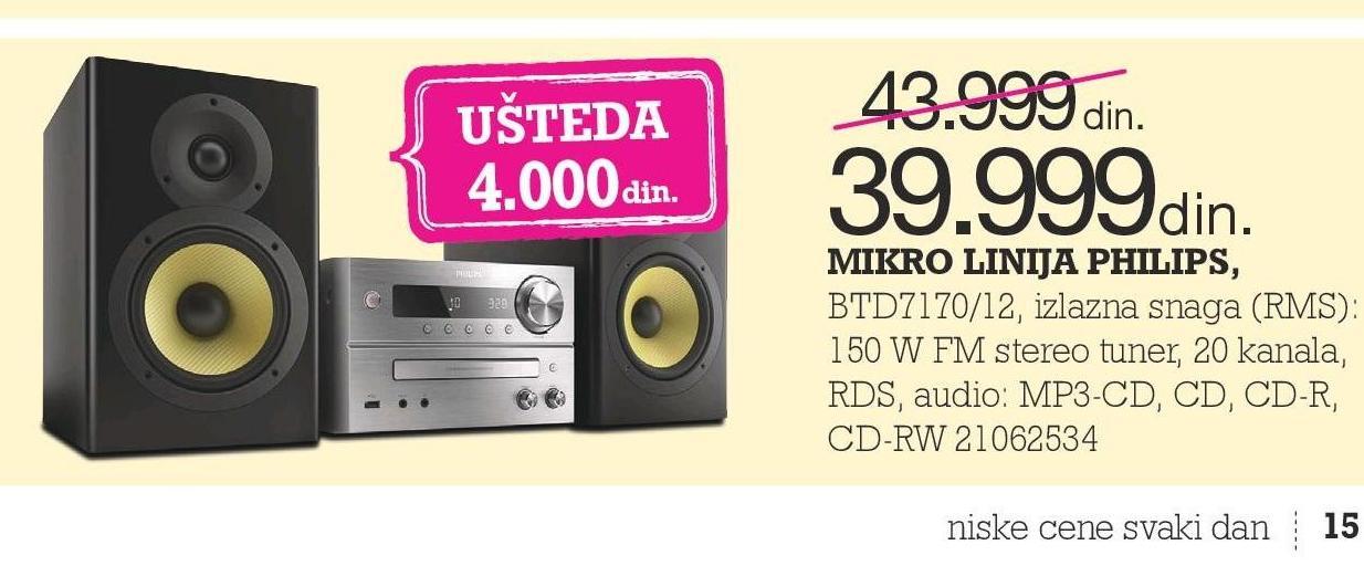 Mikro linija BTD7170/12