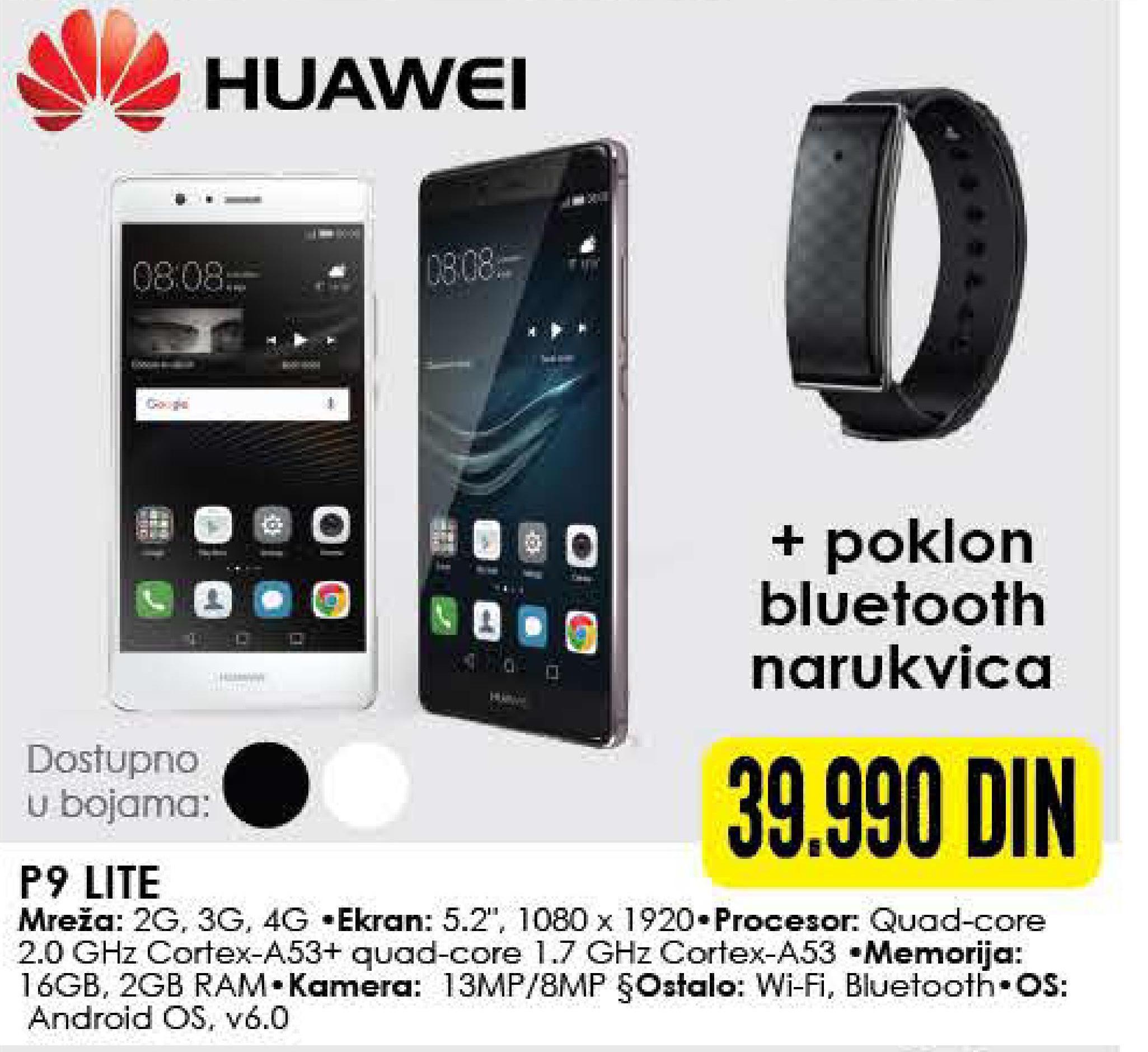 Mobilni telefon P9 Lite