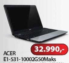 Notebook E1-531-1000