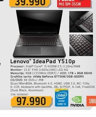 Laptop Y510p
