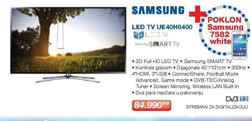 "Televizor 40"" 3D Ue40h6400"