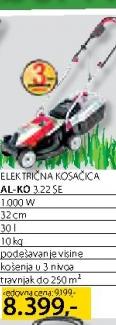 Električna kosačica 3,22 SE
