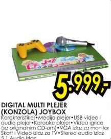 Digitalni multiplejer konzola Joybox SkyVision