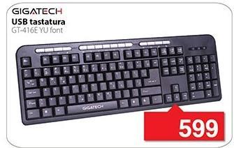 Tastatura Gt-416e