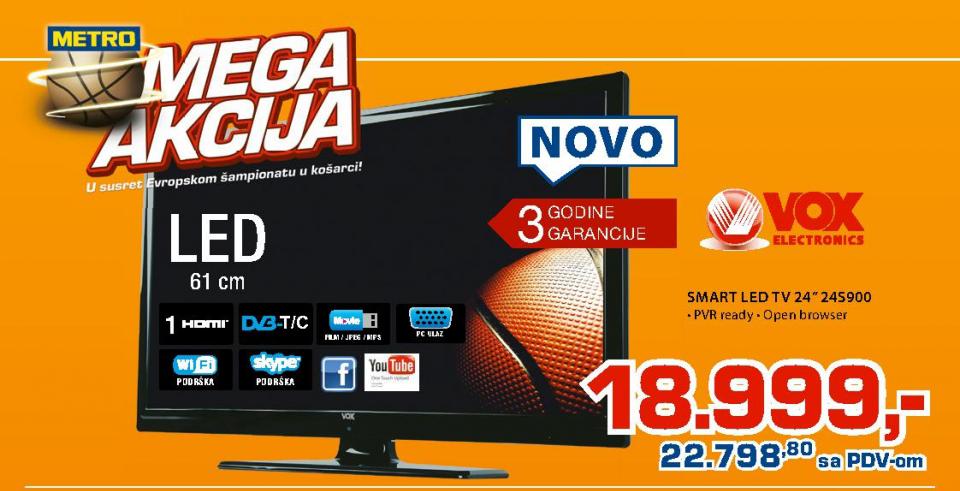 Televizor LED LCD 24S900