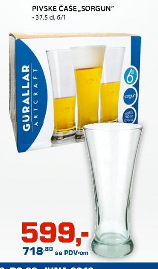 """Pivske čaše """"Sorgun"""""""