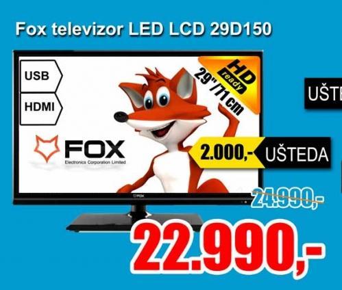 """Televizor LED 29"""" 29D150"""