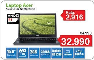 Laptop Aspire E1 -522-12502G32Mnkk
