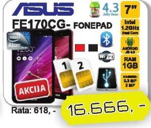 Tablet Fonepad FE170CG